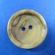 Botón madera 2 agujeros cazoleta